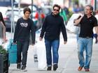Murilo Benício vai às compras em Nova York