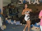 Dani Sperle ganha título de musa de escola de samba em São Paulo