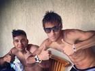 Sem franja, Neymar mostra o novo visual no Twitter
