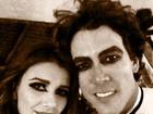 Paula Fernandes curte festa de Halloween com o namorado
