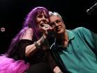 Aos 60 anos, Baby do Brasil canta, dança e se emociona em show