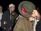 Kristen Stewart e Pattinson usam disfarce em festa de Halloween