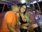 Mulher Melão tira onda e vai de limousine a show