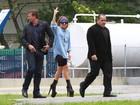 Lady Gaga prefere andar de helicóptero pelo Rio, diz jornal