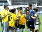 Neymar grava participação na novela 'Carrossel'
