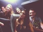 Mariana Rios, Marina Ruy Barbosa e  Lancellotti vão de van ver Lady Gaga