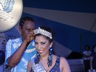 Patricia Nery é coroada como a nova rainha de bateria da Portela