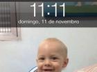Neymar posta foto fofa do filho