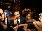James Franco e mais famosos vão a festa em São Paulo