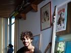 Pablo Morais, o Bacana de 'Suburbia', mostra seus desenhos