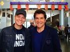 Michel Teló e Daniel se encontram em Las Vegas