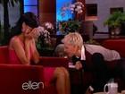 Ellen DeGeneres 'conversa' com partes íntimas de Rihanna na TV