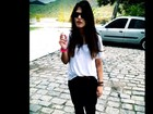 Namorado posta foto de Antonia Morais com cigarro e se declara
