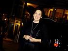 Claudia Jimenez comemora aniversário com amigos famosos
