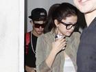 Justin Bieber e Selena Gomez jantam juntos em Los Angeles