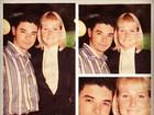 David Brazil revira o baú e posta foto ao lado de Xuxa