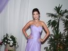 Fernanda Paes Leme evita falar sobre o namoro: 'Está ótimo'