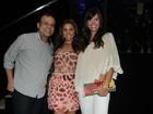Maria Melilo comemora aniversário com ex-BBBs