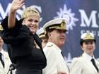 Xuxa abre temporada de cruzeiros de navio italiano no Brasil