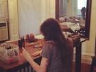 Isabeli Fontana 'paga calcinha' em foto postada no Instagram