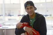 Neymar e o filho (Foto: Divulgação)