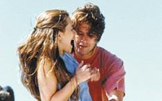 """Murilo com Alessandra Negrini na novela """"Meu Bem Querer"""", em 1998 (Foto: Reprodução / Reprodução)"""