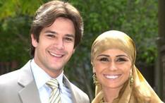 """Murilo Benício e Giovanna Antonelli em """"O Clone"""", em 2001 (Foto: Divulgação / TV Globo)"""