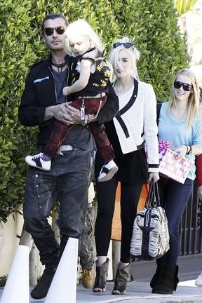 Gwen Stefani e Gavin Rossdale (Foto: Honopix)