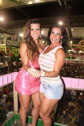 Renata Santos e Scheila Carvalho (Foto: Ag.News/ Onofre Veras)