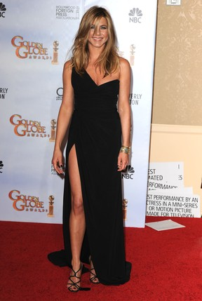 Jennifer Aniston no Globo de Ouro 2010 (Foto: Getty Images/Agência)