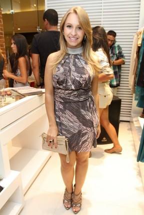 """Carla Diaz no lançamento da grife """"XPTO"""" em shopping do Rio (Foto: Anderson Borde/ Ag.News)"""