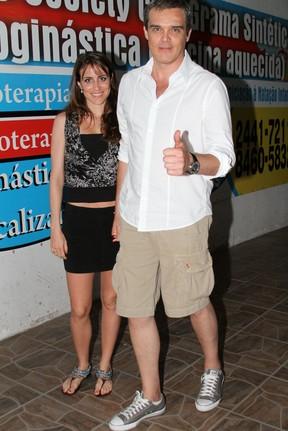Dalton Vigh em festa de 'Fina Estampa' no Rio (Foto: Cleyton Militão/ Photo Rio News)