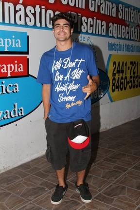 Caio Castro em festa de 'Fina Estampa' no Rio (Foto: Clayton Militão/ Photo Rio News)