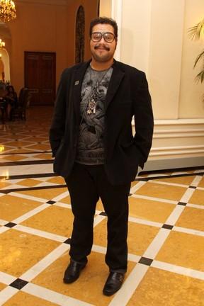 Tiago Abravanel em prêmio no Rio (Foto: Felipe Assumpção/ Ag.News)