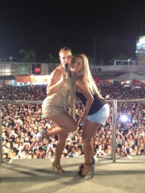 Ivete Sangalo e Valesca Popozuda (Foto: Divulgação)