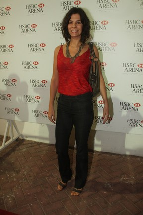 Helena Ranaldi em show de Joe Cocker no Rio (Foto: Fábio Martins/ Ag. News)