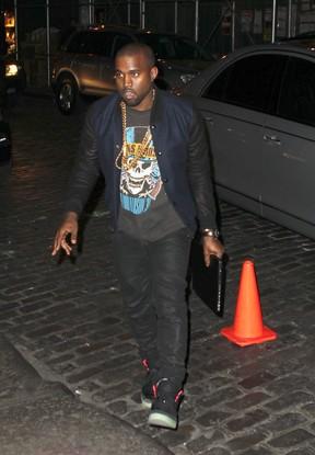 Kanye West X17 (Foto: Agência X17)
