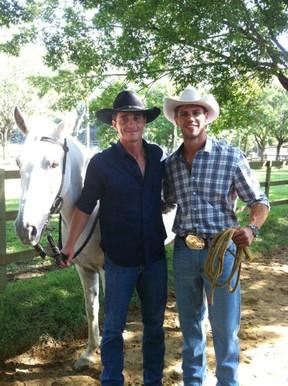 Ex-BBBs Fael e Jonas (Foto: Twitter/ Reprodução)