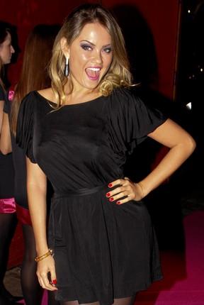 Ellen Rocche vai a festa em São Paulo (Foto: Danilo Carvalho/ Ag. News)