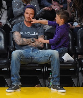 David Beckham (Foto: Agência Grosby Group)