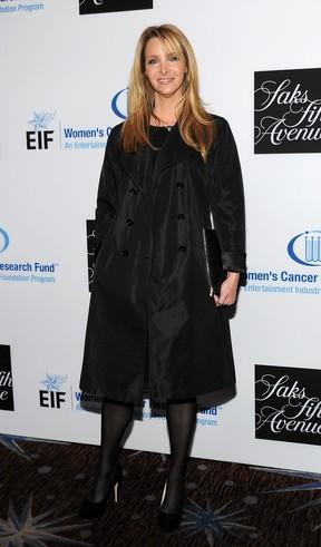 Lisa Kudrow em evento beneficente em Los Angeles, os Estados Unidos (Foto: AFP/ Agência)
