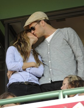 Gisele Bundchen e Tom Brady (Foto: Reuters)
