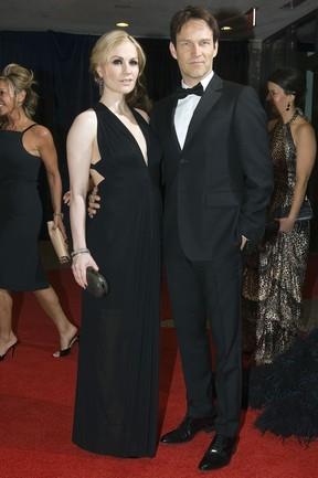 Anna Paquin e Stephen Moyer  (Foto: Agência/ Reuters)