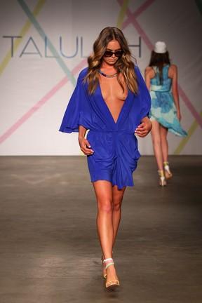Modelo mostra demais em semana de moda em Sydney, na Austrália (Foto: Getty Images/ Agência)