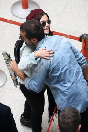 Ricardo Pereira e Giovanna Lancelotti (Foto: Henrique Oliveira/Photorio News)