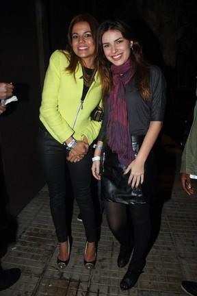 As atrizes Nívea Stelmann e Thais Melchior no aniversário de Giovanna Lancellotti em boate em São Paulo (Foto: Manuela Scarpa/ Photo Rio News)