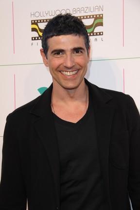 Reynaldo Gianechinni em festival de cinema nos Estados Unidos (Foto: Grosby Group/ Agência)