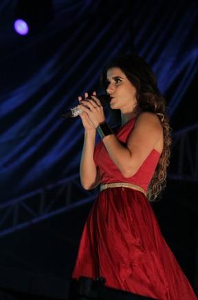 Paula Fernandes na Festa do Peão de Americana (Foto: Milene Cardoso/Ag. News)