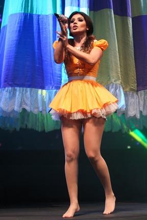 Paula Fernandes em show na cidade de Santana do Parnaíba, em São Paulo (Foto: Manuela Scarpa/ Foto Rio News)