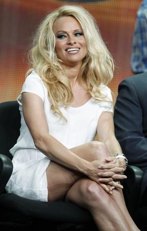 """Pamela Anderson na divulgação da nova temporada de """"Dancing with the stars"""" (Foto: Agência/ Reuters)"""